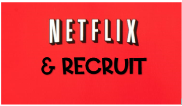 Netflix & Recruit graphic